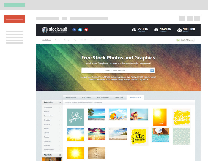 Los mejores bancos de imágenes gratuitas para tu web